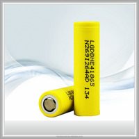 Factory supply 3.7V 2500mAh HE4 18650 Rechargeable Battery For Electronic Cigarette Box MOD Vape