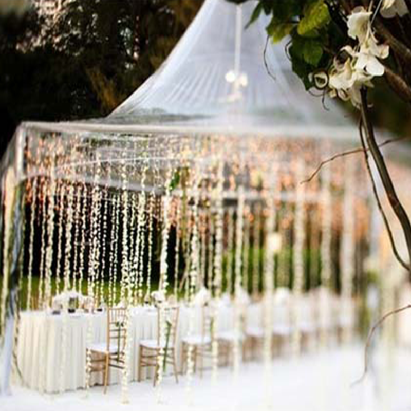 Outdoor Party Wedding Decoration Ideas Beach Tent Hanging