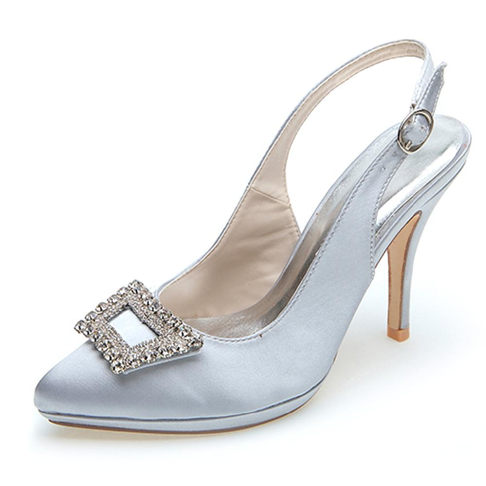 Grey Kitten Heel Shoes Uk