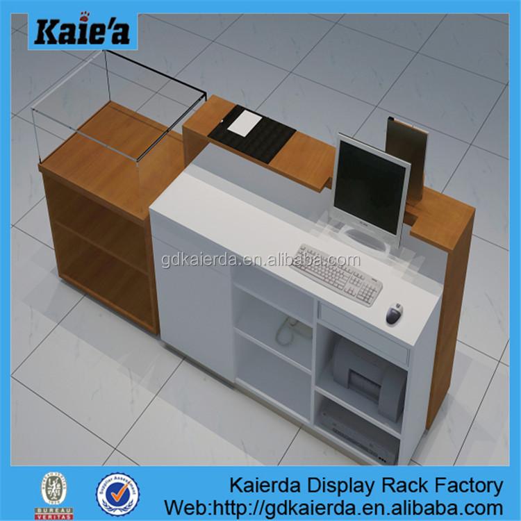 Wooden Cash Desk/wooden Cash Counter/design Checkout Counter