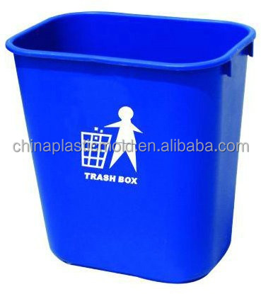 28liter top open plastic waste bin for offices & deskside
