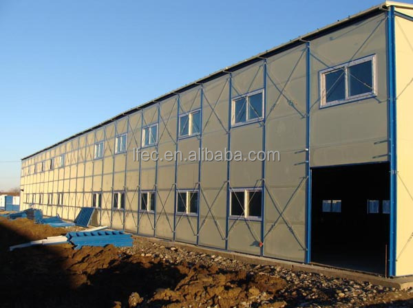 Prefab Convenitly Install Steel Truss Structure Storage Building