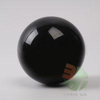 100mm black Crystal ball Unique Design Crystal Diamonds Ice Cracking Color Crystal Balls