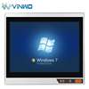 15 Inch embedded Industrial Panel pc with Resistance / Capacitive with quad nuc J1900,intel i3 i5 i7 processor
