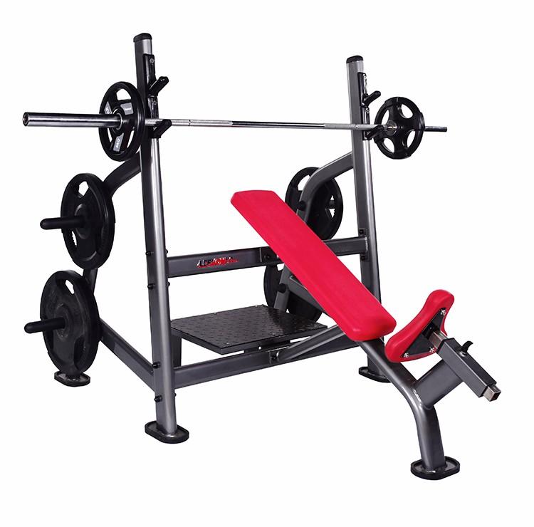 Body building machine home gym use incline bench press fitness