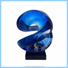 hotsale fantastic wonderful transparent home decorative resin adornments