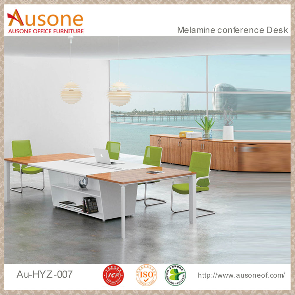 Metal Desk Show Room Table Aluminium Office Table Legs Conference Desk