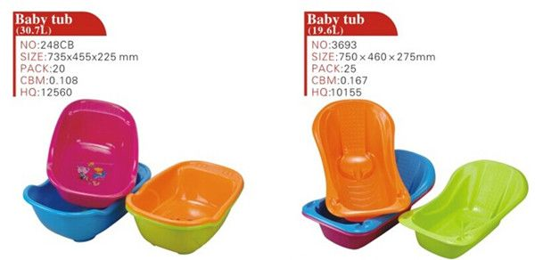 mather's choose baby wash tub