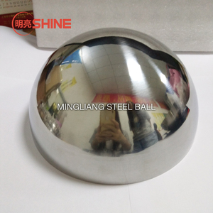 19mm to 1000mm customized hollow steel balls stainless steel 500mm hollow steel half ball