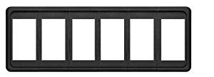 Blue Sea Systems Contura 6 Position Switch Mounting Panel by Blue Sea Systems