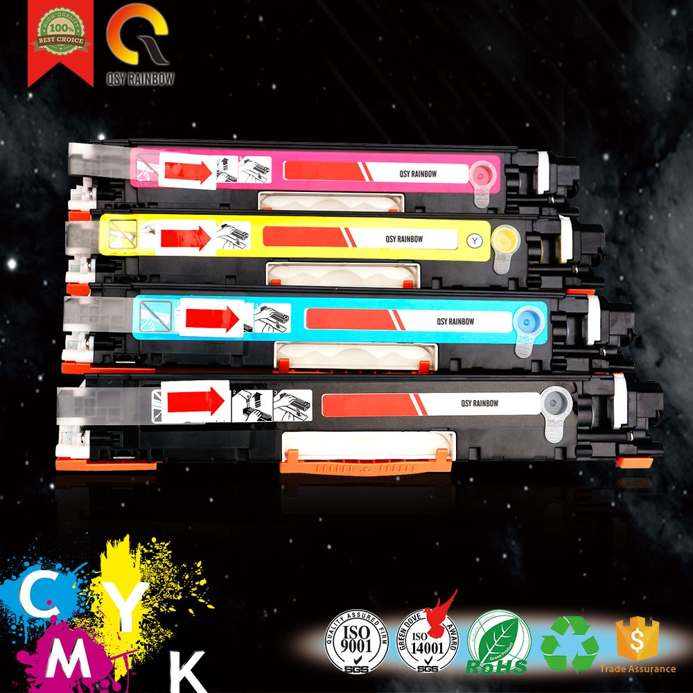 CF350A CF351A so many kinds of colors toner cartridge for CANON/HP Laser Printer Toner Cartridge Cf350