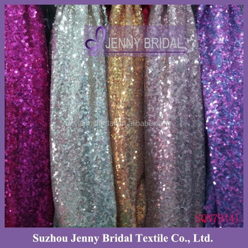 SQN794 Glitter Sequin Backdrops Christmas Curtain Design