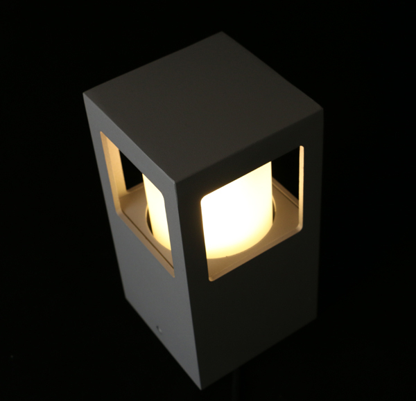 Led Square High Quality Bollard Garden Light