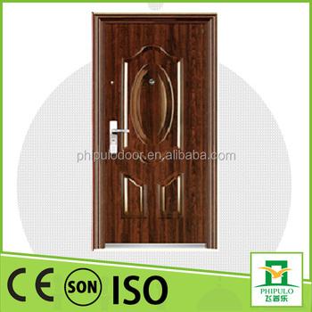 Wholesale cheap residential door frame exterior steel door for