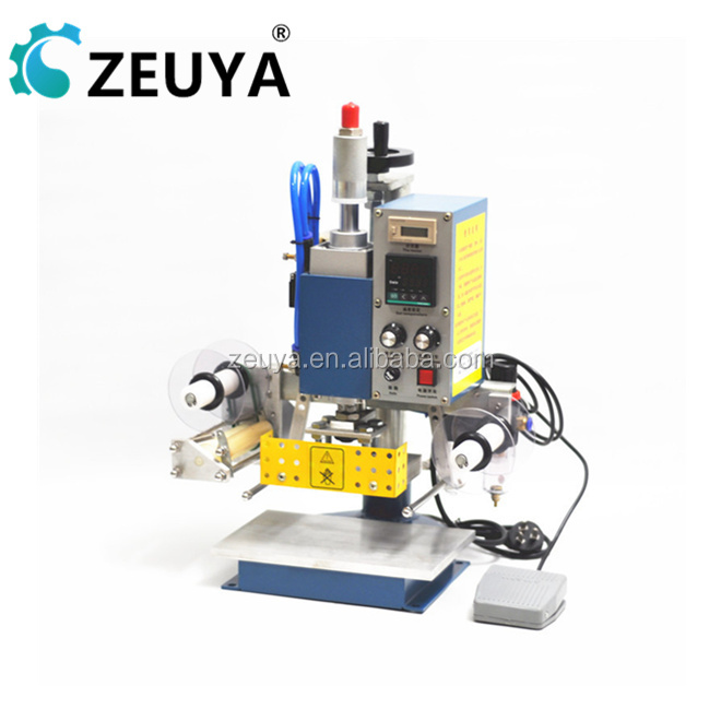 Good Quality Industrial leather debossing hot stamping machine China Manufacturer DDP-A50
