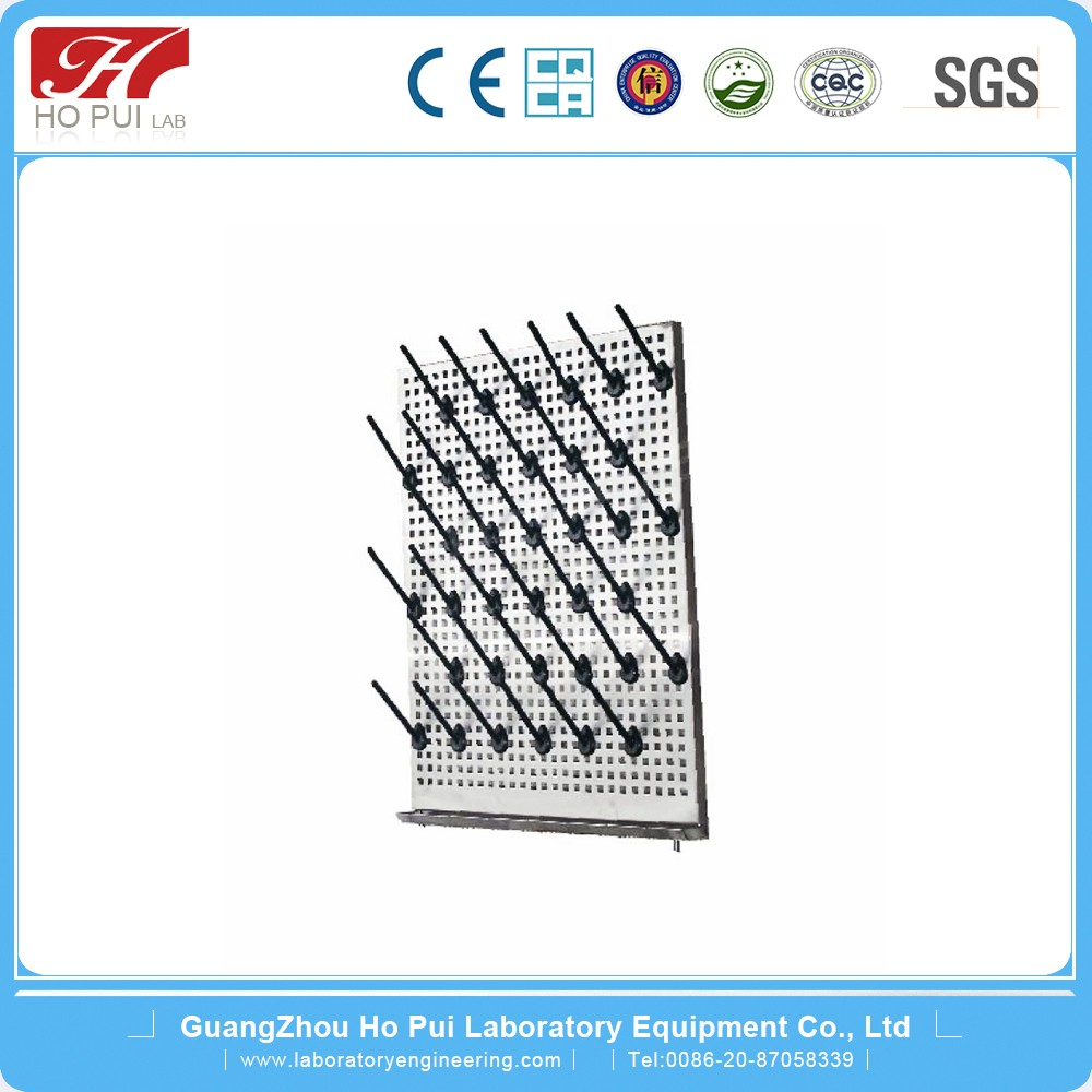 Laboratory Fittings/Stainless Steel Dripping Rack with Single Face