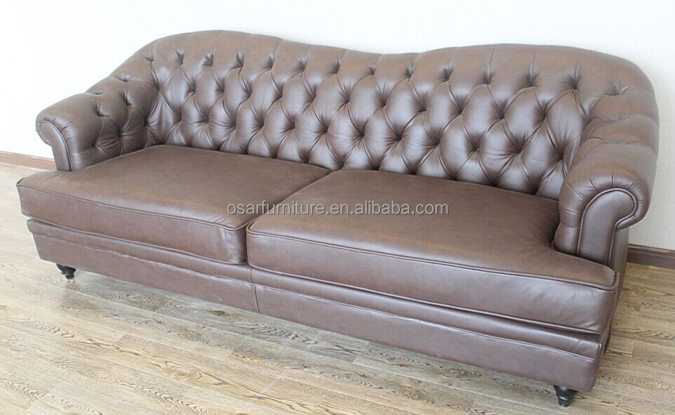 Brilliant Classic Camel Back Antique Tufted Leather Sofa Furniture View Leather Sofa Osar Furniture Product Details From Shanghai Osar Furniture Co Ltd On Ibusinesslaw Wood Chair Design Ideas Ibusinesslaworg