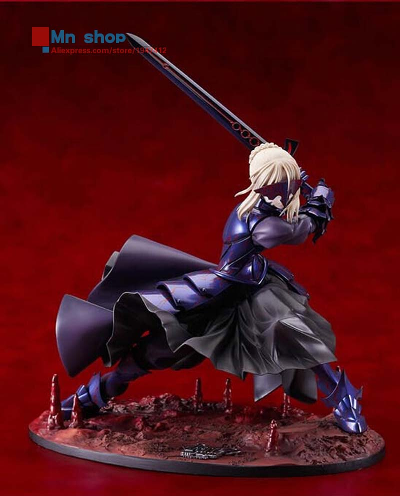 Hot Figure Toys 11 Japanese Anime Fate Stay Night Black Saber Fate Humble King PVC Action