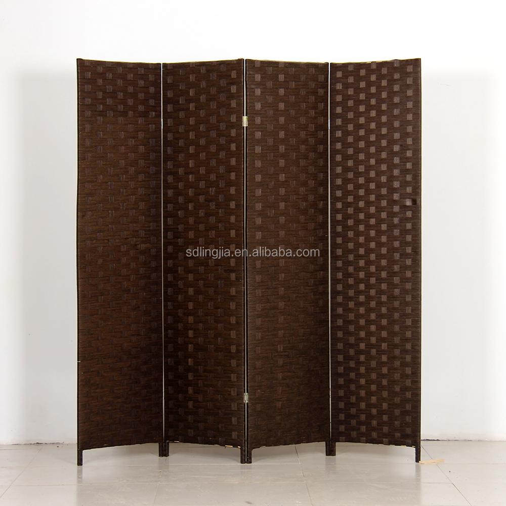 Handmade Make Folding Screen Retractable Paper Room Dividers