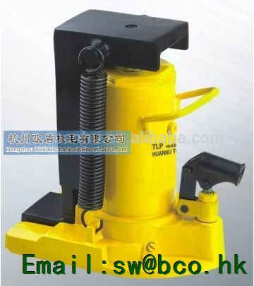 Hydraulic track jacks, integral type, 160mm Stroke HHQD-20, hydraulic tools