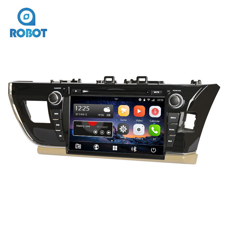 China Wholesale Factory Price Android7.1 Car Stereo DVD Player Car DVD Player For Toyota Carola