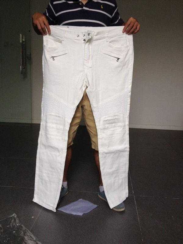 White Bootcut Jeans For Men Ye Jean
