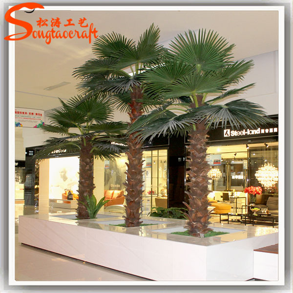 Nearly Nature Cheap Top Quality Artificial Ornamental Indoor Palm ...