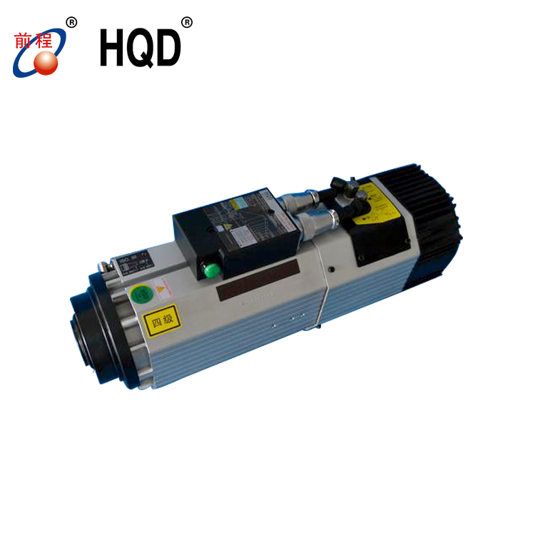 ISO 30 short nose 9 kw 24000rpm atc HQD spindle motor