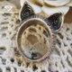 2016 Hot Sale Vintage Fashion Antique Gold or Silver Plated Alloy Vintage Cute Cat Ring Wholesale