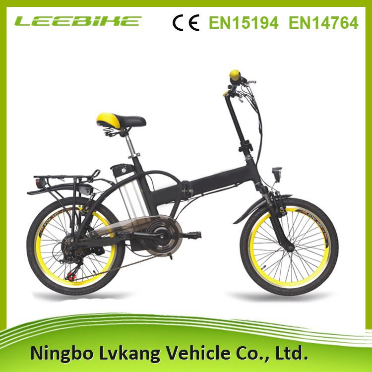 Hidden battery e bike battery in frame electric bike 20 inch folding fat tire electric bike