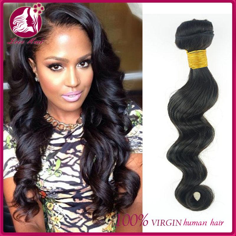 100 Human Hair Weave Brands Peruvian Hair Weave Supreme Loose Wave