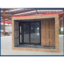 easy installation light steel concrete infill  eco prefab house