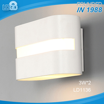 6 W Led Aluminium Moderne Wandlampen Voor Thuis Woonkamer Blaker ...