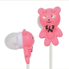 Hot sale stereo mp3 bear earphone