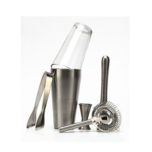 Barware Set with Boston Shaker and Jigger for Bartender