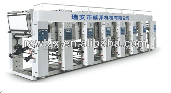 2014Factory Supply Rotogravure Printing Machine