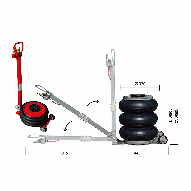 Auto Repair Tool Pneumatic Car Lift Jack for car repair