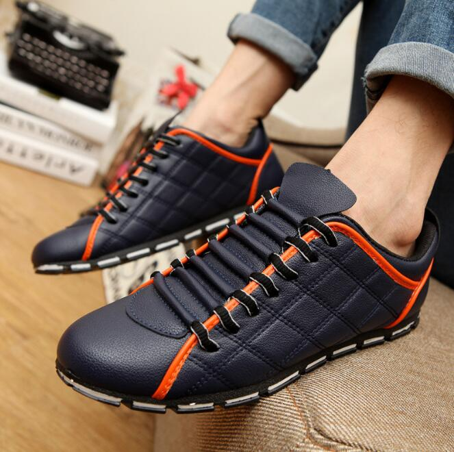 zm40786a bulk stock men comfortable hot sell casual shoes wholesale man breathable pu shoes with zipper