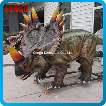 Handmade Waterproof 3D Fiberglass Dinosaur For Sale
