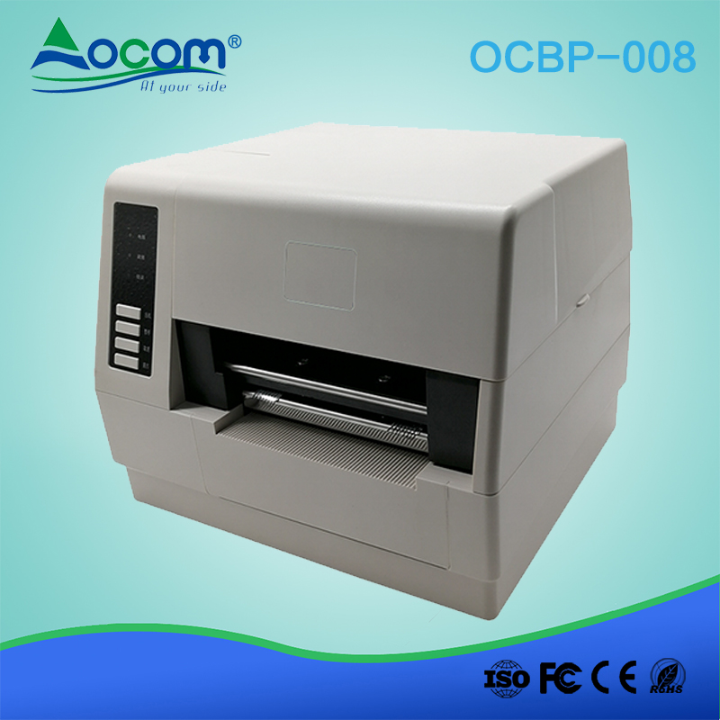 4 inches POS Shipping QR Code Barcode Sticker Thermal Label Printer