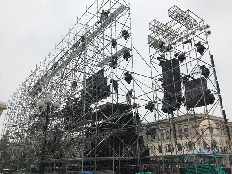TourGo Outdoor Stage Scaffolding Layer Truss Concert Layer Truss System