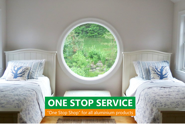 double glazed fixed round window glass circular aluminum round windows that open