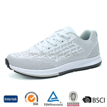 ee5d3e8c552f cheap columbus style men white cotton fabric training champion sports  running shoes