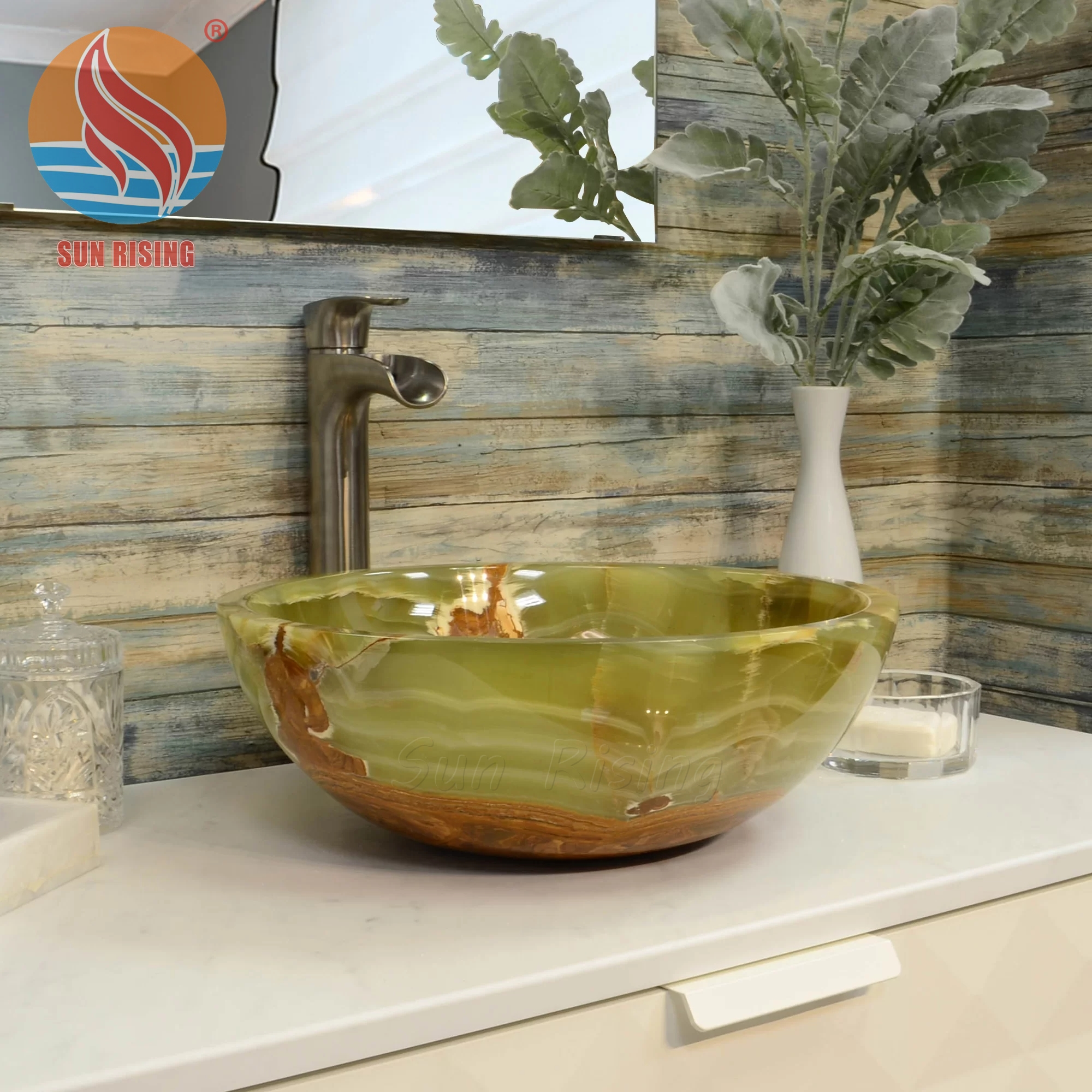 Highly Polished Marble Green Onyx Bathroom Vessel Sinks - Buy Bathroom  Sinks,Green Onyx Sinks,Marble Vessel Sinks Product on Alibaba.com