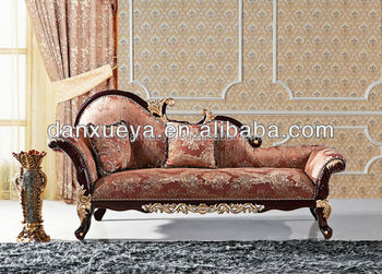 Amazing DanXueYa French Style Furniture New Luxury King/queen Size Chesterfield  Sofa Double Sex Chaise