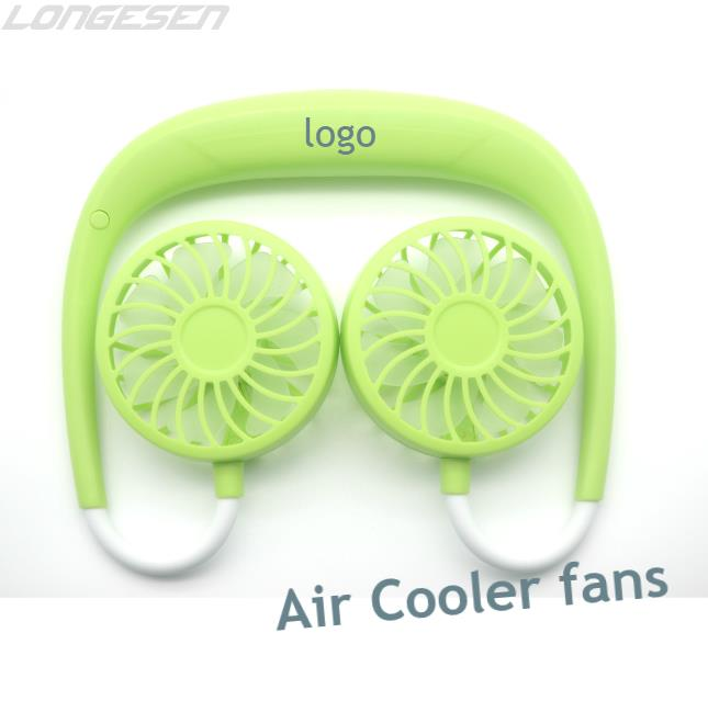 Personal Neck Hanging air cooler <strong>Fan</strong> Portable Desk Battery Rechargeable USB tiny <strong>Fans</strong> for Travel Camping Outdoor
