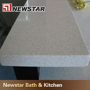 quartz polishing countertops selection white kitchen sparkle stone color desings countertop for counter