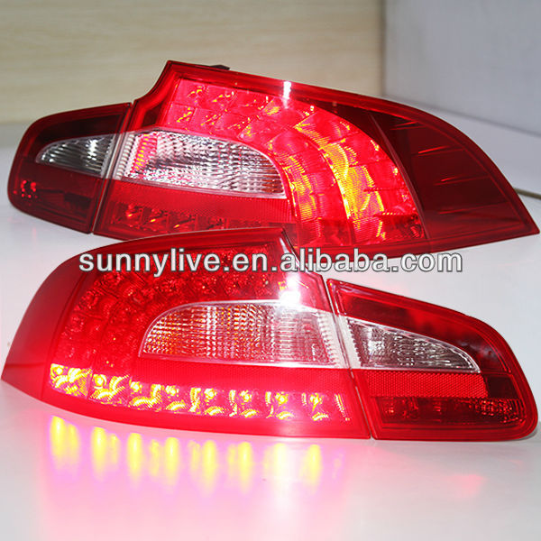 Superb LED Tail Lamp for Skoda 2008-2013 year Red White Color
