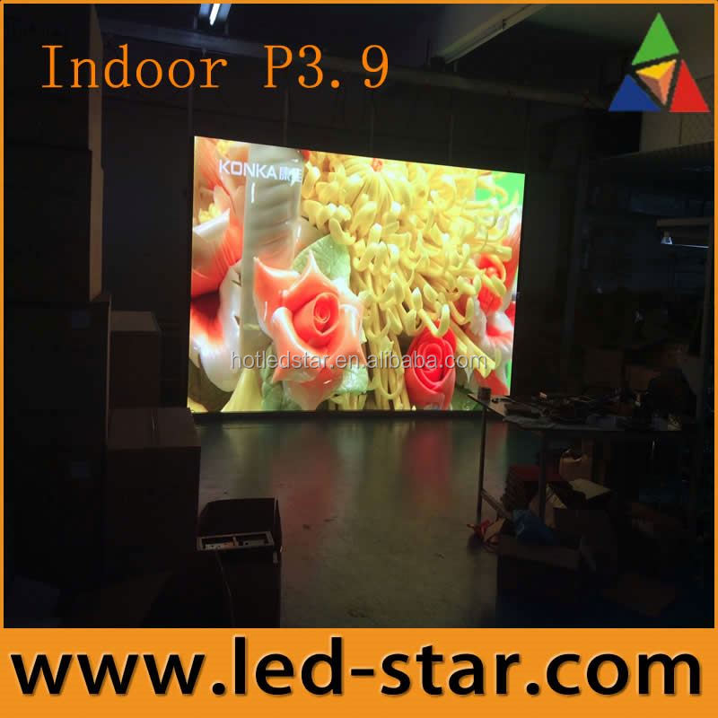 LEDSTAR immediate shipment P3.9 stage background led display big screen fullcolor from Shenzhen manufacturer