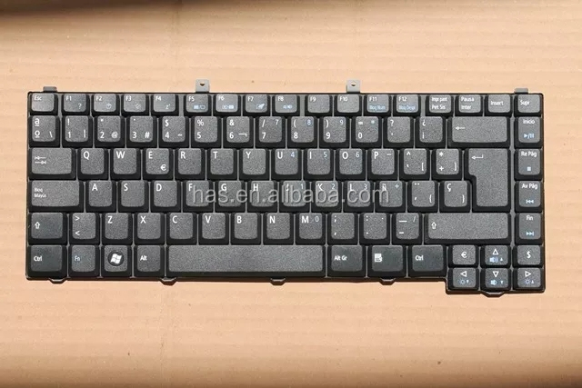 Keyboard for Acer 1400 1690 3000 3620 3500 5000 5050 5570 5580 SP LA Keyboard